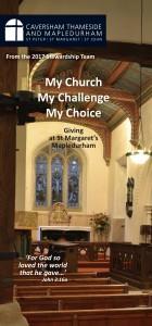 2017 Stewardship St Margaret