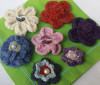 Crocheted Brooches