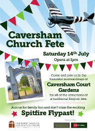 Church Fete at Caversham Court, 14 July