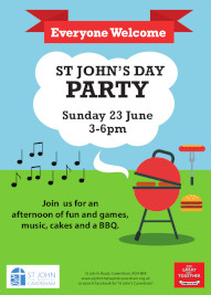 Party at St Johns, 23 June