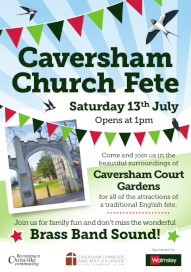 Church Fete at Caversham Court, 13 July