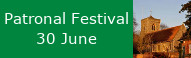 Patronal Festival at St Peters, 30 June
